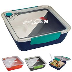 Custom Punch Square Food Container