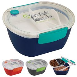 Promotional Punch Oval Food Container