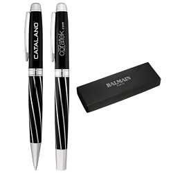 Promotional Balmain Courbe Pen Set