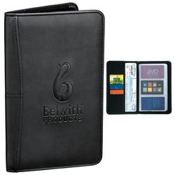 Promotional Pedova Business Cardfolio - CLOSEOUT ITEM