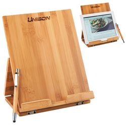 Promotional Tablet Or Recipe Book Stand With Ballpoint Stylus