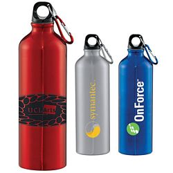 Custom 26 Oz Santa Fe Aluminum Bottle