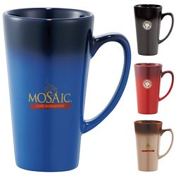 Promotional 14 Oz Cafe Tall Latte Ceramic Mug