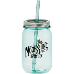 Promotional 25 Oz Vintage Mason Jar