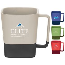Customized 14 Oz Color Step Ceramic Mug