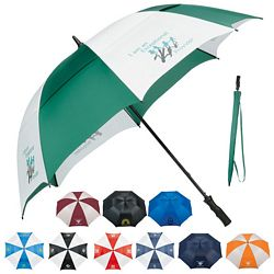 Promotional Stromberg 62 Course Vented Golf Umbrella