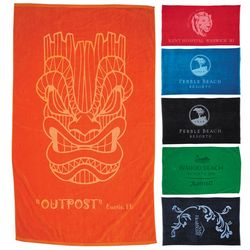 Customized Protowels Colored Beach Towel - 15Lb
