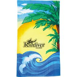 Custom Protowels 14 Lb Beach Scene Beach Towel