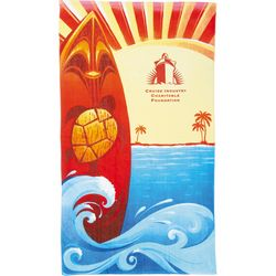 Promotional Protowels 14 Lb Surf Board Beach Towel