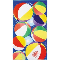 Custom Protowels 14 LbBeach Ball Beach Towel