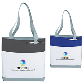 Promotional Great White Convention Tote Bags