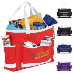 Promotional Game Day Carry-All Tote Bags