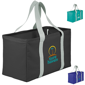 Customized Chevron Oversized Carry-All Tote Bags