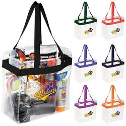 Customized Game Day Clear Stadium Tote Bags