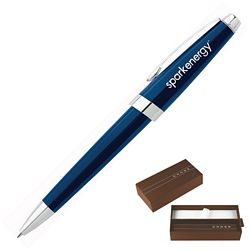 Customized Cross Aventura Starry Blue Ballpoint Pen