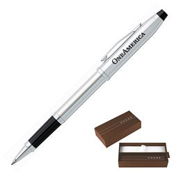 Custom Cross Century Ii Lustrous Chrome Roller Ball Pen