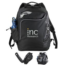 Promotional Summit Checkpoint-Friendly Compu-Backpack