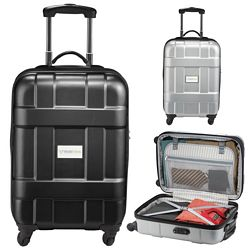 Promotional Luxe 19 Hardside 4-Wheeled Spinner Carry-On Bag