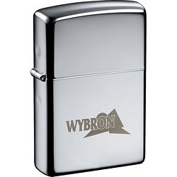 Promotional Zippo Windproof Lighter High Polish Chrome