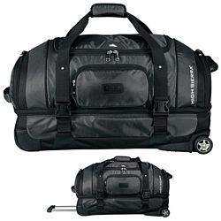 Customized High Sierra Exec Sport Wh Duffel W- Drop Bott