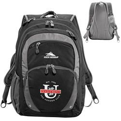 Promotional High Sierra Overtime Fly-By Compu-Backpack