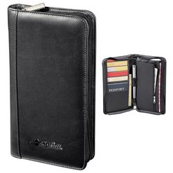 Promotional Millennium Leather Travel Wallet