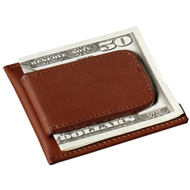 Promotional Cutter Buck Money Clip Card Case
