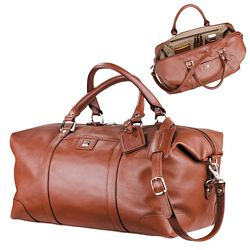 Promotional Cutter Buck Leather Weekender