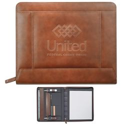 Promotional Cutter Buck Legacy Zippered Padfolio