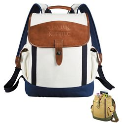 Custom Cutter Buck Legacy Cotton Rucksack Backpack
