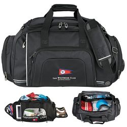 Promotional Cutter Buck Tour Deluxe Duffel Bag