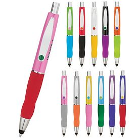 Custom Valumark Ba8020 Turner Multi-Colored Stylus Pen