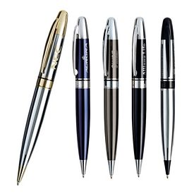 Promotional Basics Presidio Metal Twist Pen