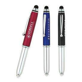 Promotional Valumark BV2420 Ballpoint LED Stylus Pen