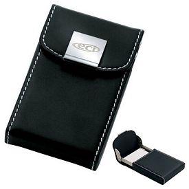 Customized Essentials Noir Iii Business Card Case