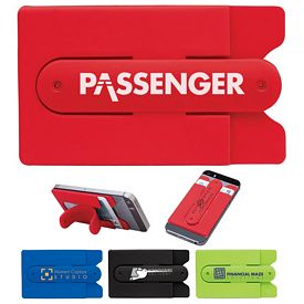 Promotional Valumark Eb9043 Silicone Phone Stand Wallet