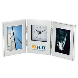 Custom Essentials Cardin Ii Clock Photo Frames