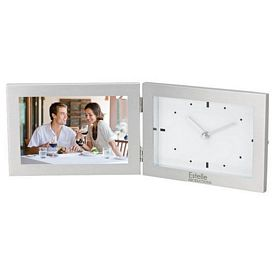 Promotional Essentials Ec2033 Clock Photo Frame