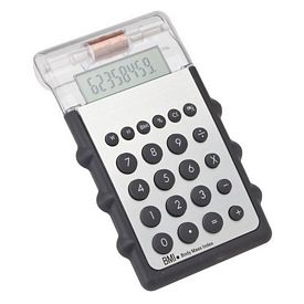 Promotional Giftcor Business Motion Calculator with Body Mass Indicator - CLOSEOUT ITEM