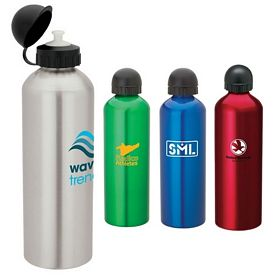 Promotional Giftcor 338 Oz Domed Sport Flask Bottle