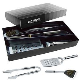 Custom Giftcor Gr2000 3 Piece Bbq Set