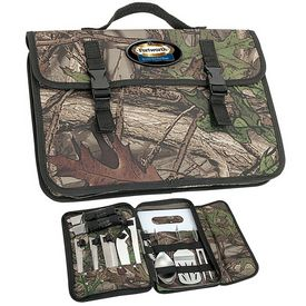 Promotional Essentials Gr2014 Camo Bbq Camping Set