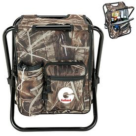 Promotional Giftcor Gr4606 24-Can Camo Cooler Chair