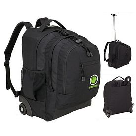 Promotional Sovrano Kb4503 Executive Rolling Backpack