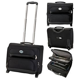 Promotional Sovrano Kc2503 Rolling Executive Travel Case