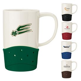 Promotional Sovrano Spinta 14 oz. Ceramic Mug