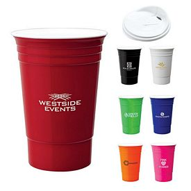 Custom Valumark Km6134 16 Oz Double Wall Party Cup