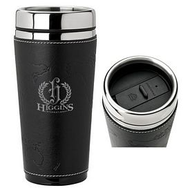 Promotional Sovrano KM6213 16 oz. Stainless Steel Sleeve Tumbler