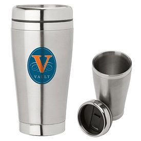 Custom Sovrano Km6413 16 Oz Double Wall Steel Tumbler