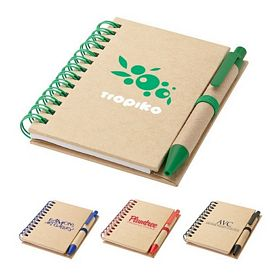 Promotional Sovrano Kp0541 3375X475 Recycled Notebook Pen